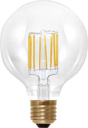 Segula LED E27 Globeform 6 W = 35 W Warmweiß (Ø x L) 95 mm x 130 mm EEK: A+ dimmbar, Filament 1 St.