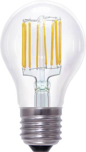 LED E27 Glühlampenform 8 W = 55 W Warmweiß (Ø x L) 60 mm x 105 mm EEK: A+ Segula Filament, dimmbar 1 St.