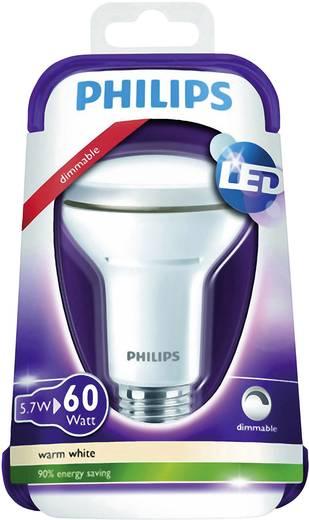 LED E27 Reflektor 5.7 W = 60 W Warmweiß (Ø x L) 64 mm x 102 mm EEK: A+ Philips Lighting dimmbar 1 St.