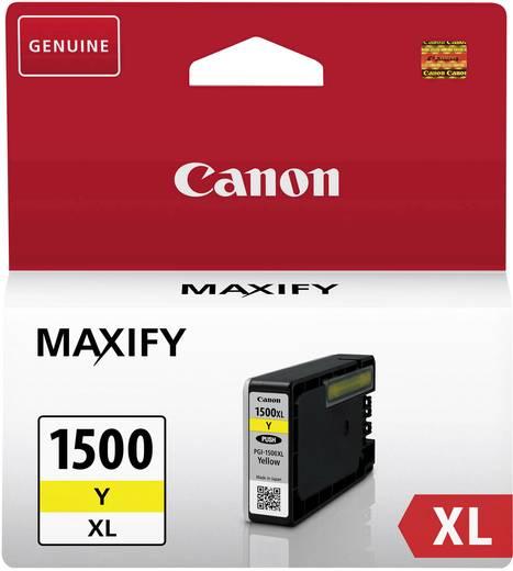 Canon Tinte PGI-1500Y XL Original Gelb 9195B001