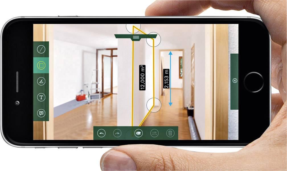 Iphone 8 Entfernungsmesser : Bosch home and garden plr c laser entfernungsmesser bluetooth