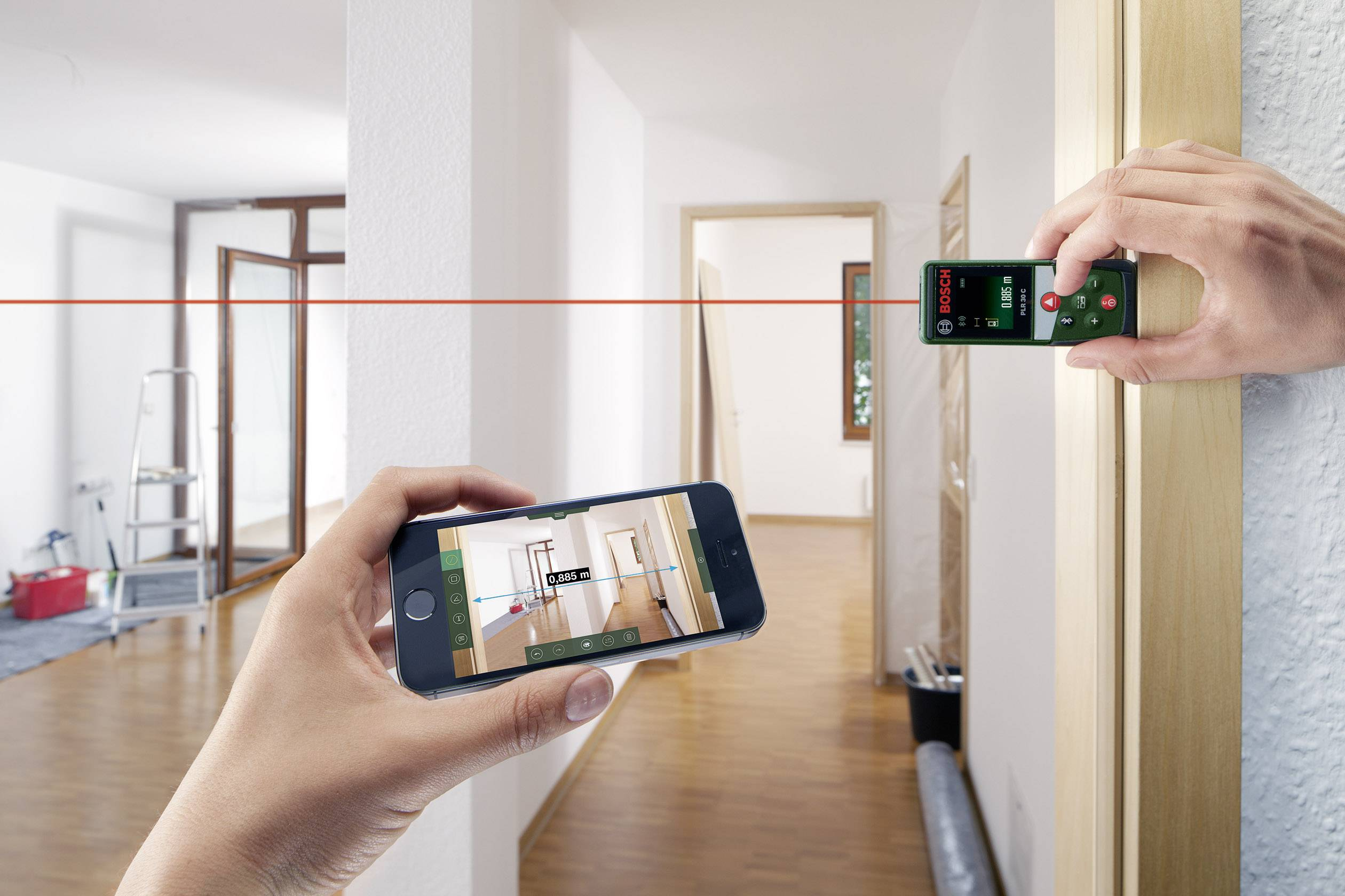 Entfernungsmesser Berlin : Bosch home and garden plr c laser entfernungsmesser bluetooth