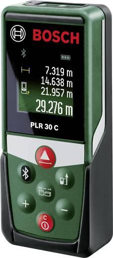 Bosch Home and Garden PLR 30 C Laser-Entfernungsmesser Bluetooth, Dokumentations-App Messbereich (max.) 30 m Kalibriert