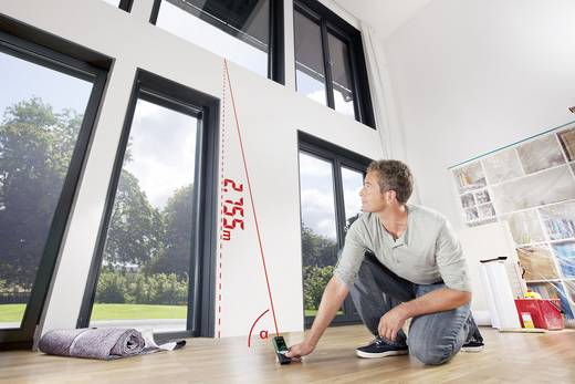 Bosch home and garden plr 50 c laser entfernungsmesser touchscreen