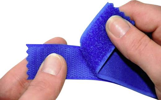 Klettband zum Aufnähen Haftteil (L x B) 25000 mm x 150 mm Weiß Fastech T0115000000125 25 m