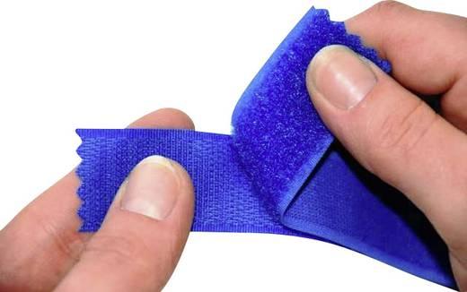 Klettband zum Aufnähen Flauschteil (L x B) 25000 mm x 107 mm Weiß Fastech T0210700000125 25 m