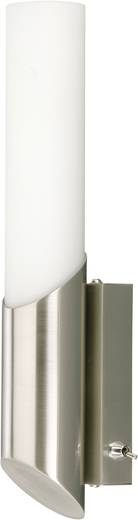 Bad-Wandleuchte Halogen, LED E14 40 W Briloner 2164-012 Nickel (matt)