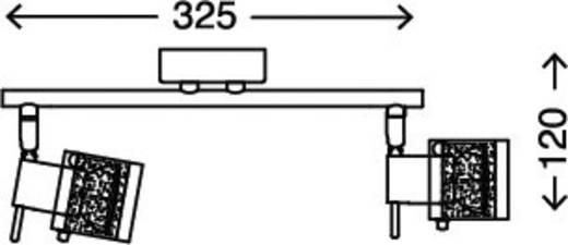 Bad-Deckenleuchte Halogen GU10 70 W Briloner 2134-028 Chrom