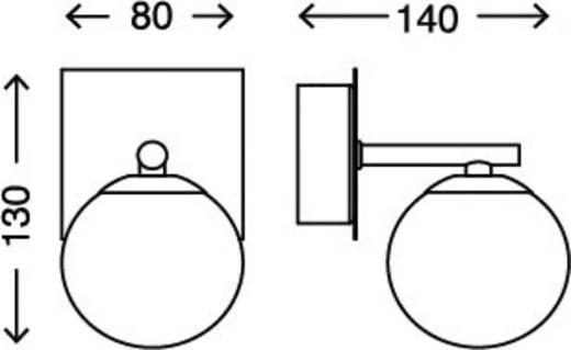 Briloner Bad-Wandleuchte 2146-018 Chrom IP44 G9