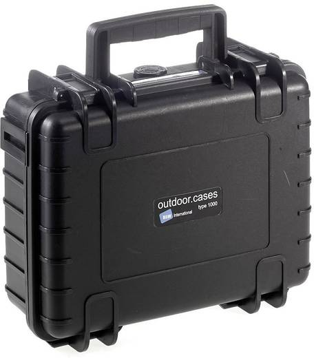 Universal Werkzeugkoffer unbestückt B & W International 1000/B/SI (B x H x T) 272 x 106 x 215 mm