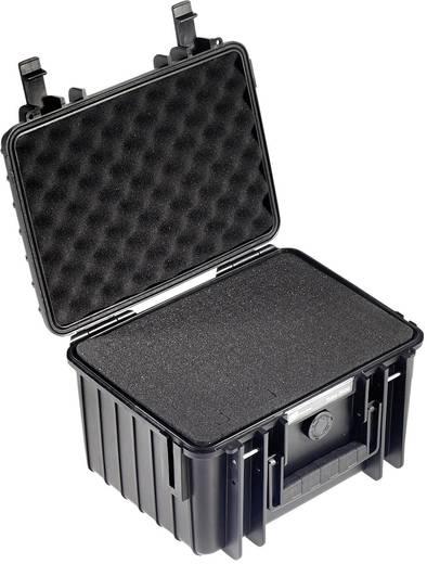 Universal Werkzeugkoffer unbestückt B & W International outdoor.cases 2000/B/SI (B x H x T) 272 x 166 x 215 mm