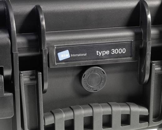 Universal Werkzeugkoffer unbestückt B & W International 4000/B/SI (B x H x T) 420 x 180 x 325 mm