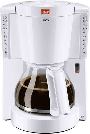 Kaffeemaschine Melitta Look IV 1011-01 Weiß Fassungsvermögen Tassen=8