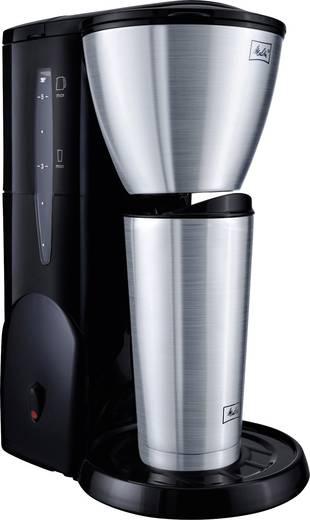 Kaffeemaschine Melitta Single 5 Therm Edelstahl (gebürstet), Schwarz Fassungsvermögen Tassen=5 Isolierkanne