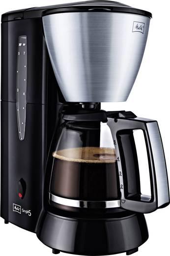 Kaffeemaschine Melitta Single5® Glas M720 Edelstahl, Schwarz Fassungsvermögen Tassen=5