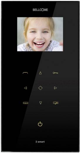 Bellcome VT2.3X0.BLB Video-Türsprechanlage Kabelgebunden Inneneinheit Schwarz