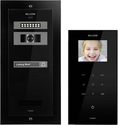 1 familien video t rsprechanlage 2 smart schwarz kaufen. Black Bedroom Furniture Sets. Home Design Ideas