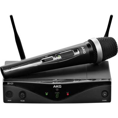 AKG WMS420 VOCAL SET D 5 M-BAND Funkmikrofon-Set Übertragungsart:Funk Preisvergleich