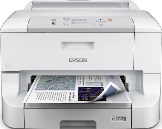 Epson WorkForce Pro WF-8010DW Tintenstrahldrucker A3+ LAN, WLAN, Duplex