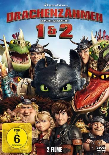 DVD Drachenzähmen leicht gemacht 1 & 2 FSK: 6