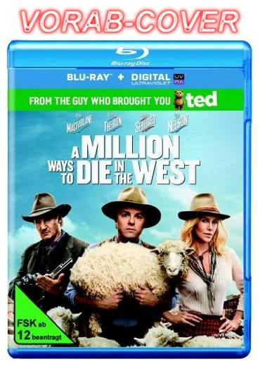 blu-ray A Million Ways to Die in the West FSK: 12