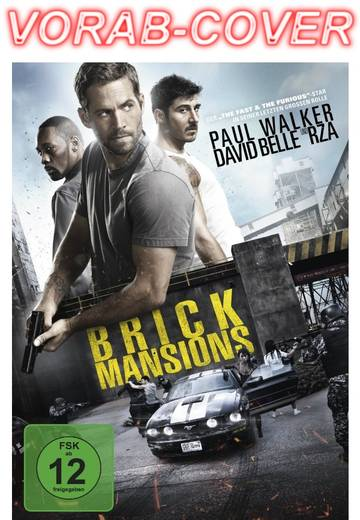 DVD Brick Mansions FSK: 12
