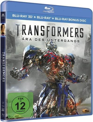 blu-ray 3D Transformers 4 - Ära des Untergangs (+2D Blu-ray) FSK: 12