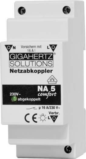 Netzabkoppler 1 St. Gigahertz Solutions NA5 Schaltspannung (max.): 230 V/AC 16 A 2300 W Restwelligkeit: 8 mV