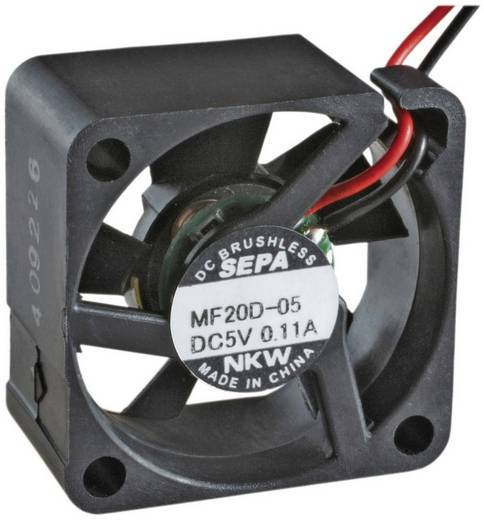 Axiallüfter 5 V/DC 1.3 m³/h (L x B x H) 20 x 20 x 8 mm SEPA MF20C05L