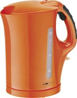 Rychlovarná konvice Clatronic WK 3445 263674, 2200 W, 1.7 l, oranžová