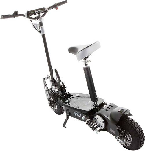 e scooter sxt scooters esc1000 5 turbo schwarz li ion 36 v. Black Bedroom Furniture Sets. Home Design Ideas