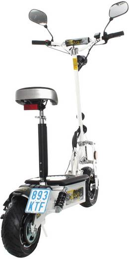SXT Scooters ESC1000XLEEC.4 E-Scooter Weiß LiFePO 4 48 V 20 Ah Straßenzulassung: Ja