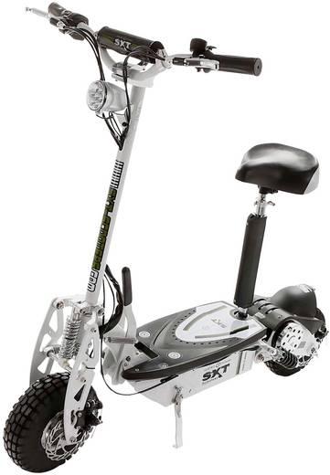 SXT Scooters ESC1000.3 Turbo E-Scooter Weiß Blei 36 V 12 Ah Straßenzulassung: Nein