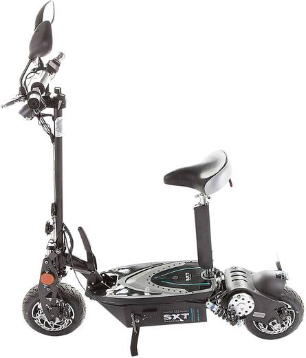 SXT Scooters ESC1000XLEEC.5 E-Scooter Schwarz Li-Ion 48 V 30 Ah Straßenzulassung: Ja