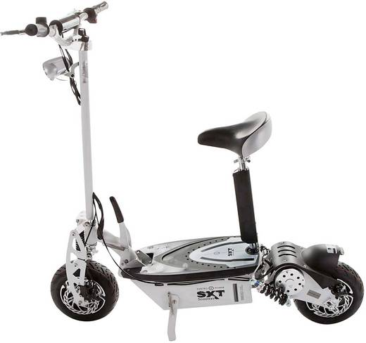 E-Scooter SXT Scooters ESC1000XL.6 Weiß Li-Ion 48 V 30 Ah Straßenzulassung: Nein