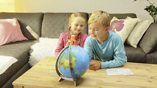 ravensburger tiptoi der interaktive globus halbschalen. Black Bedroom Furniture Sets. Home Design Ideas