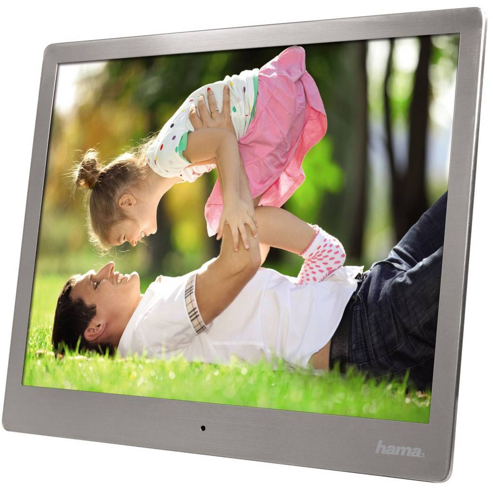 Hama 95276 Digitaler Bilderrahmen 25.4 cm 10 Zoll 1024 x 768 Pixel 4 ...