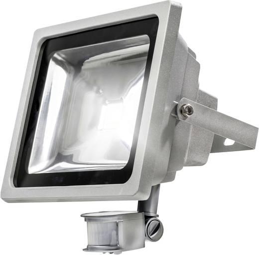 as - Schwabe 46907 LED-Außenstrahler mit Bewegungsmelder 20 W Neutral-Weiß Silber