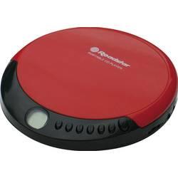Prenosný CD prehrávač - diskman Roadstar PCD-435CD, červená