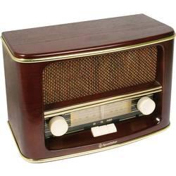 Rádio Roadstar HRA-1500/N, FM/AM, drevo
