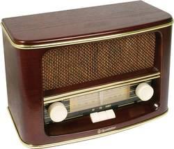 Retro FM stolní rádio Roadstar HRA-1500N dřevo