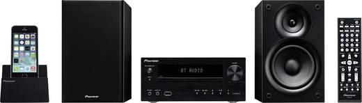 Stereoanlage Pioneer X-HM32V-K AUX, Bluetooth®, CD, DVD, UKW, USB, 2 x 30 W Schwarz
