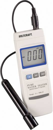 Leitfähigkeits-Messgerät VOLTCRAFT WA-100 ATC 3 % 0 - 1999 µS Kalibriert nach ISO