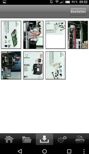 Mobiler Dokumentenscanner A4 Renkforce Mobile Scan Wireless-Edition 300 x 1200 dpi USB, WLAN 802.11 b/g/n