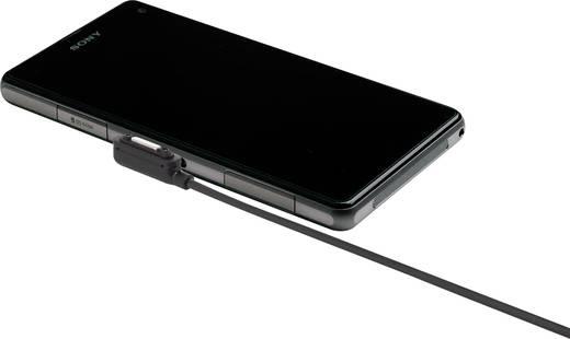 Handy Anschlusskabel [1x USB 2.0 Stecker A - 1x herstellerspezifisch] 0.75 m USB 2.0 mit Magnetanschluss Renkforce