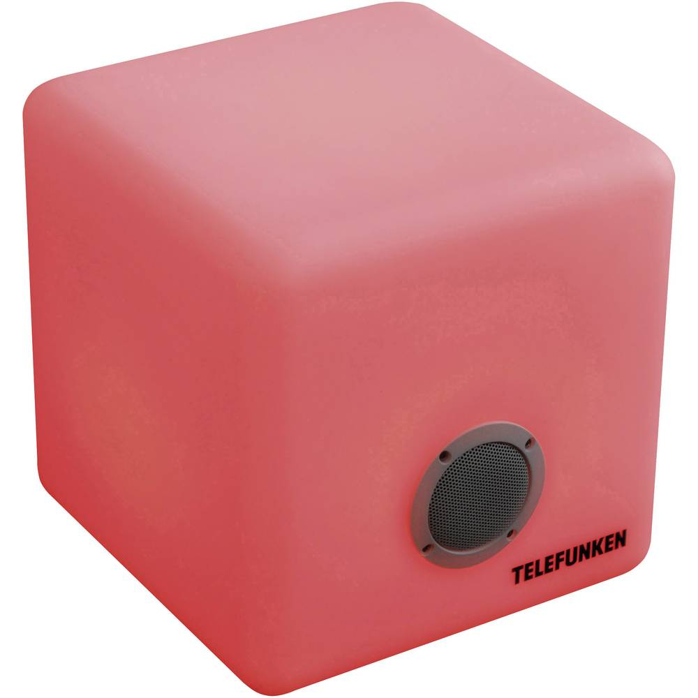 enceinte bluetooth colourcube telefunken t90403 sur le site internet conrad 1278024. Black Bedroom Furniture Sets. Home Design Ideas