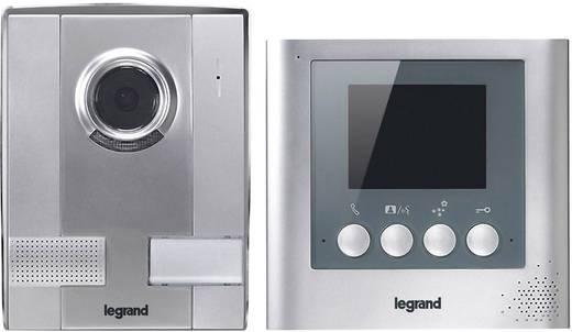 Video-Türsprechanlage Kabelgebunden Komplett-Set Legrand 369100 1 Familienhaus Silber