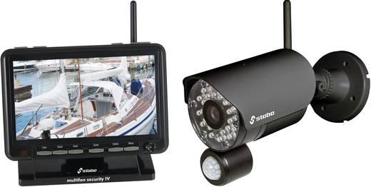 Funk-Überwachungs-Set 4-Kanal mit 1 Kamera Stabo 51086 Security IV