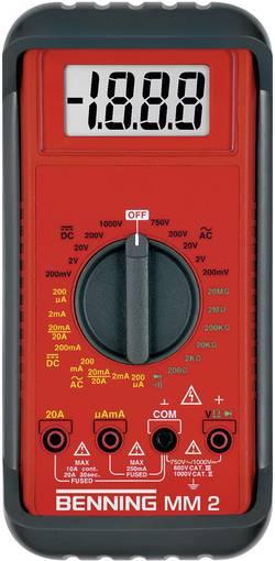 Multimètre numérique BENNING MM 2 Etalonnage ISO Benning MM 2 044028