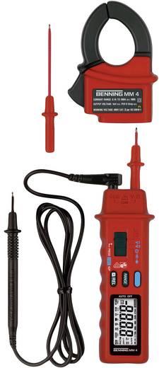 Hand-Multimeter, Stromzange digital Benning MM 4 Kalibriert nach: ISO CAT II 600 V, CAT III 300 V Anzeige (Counts): 420
